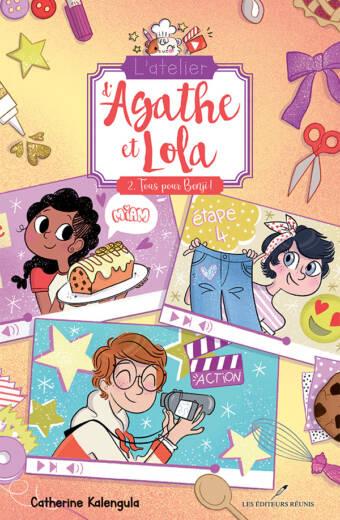 L'atelier d'Agathe et Lola, tome 2 : tous pour Benji - Catherine Kalengula - Les Éditeurs réunis